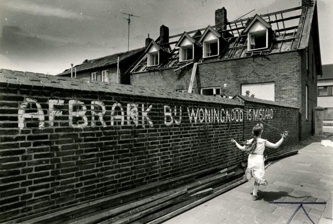 Mei 1979. Sloop oude wijk Heilust